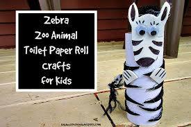 zebra tissue paper zebra zoo animal toilet paper roll crafts for kids whispers