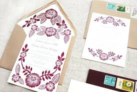 how to print your own wedding invitations printing wedding invitations whatstobuy