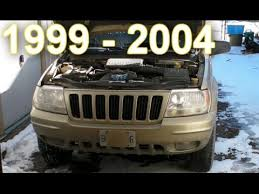 jeep grand style change goregoon s garage changing the headlights on a 1999 2004 jeep