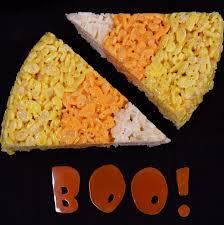 Halloween Crispy Cakes Candy Corn Rice Krispie Treats Amy U0027s Healthy Baking