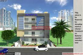 exterior view dr balaji obula reddy nandyal ap hospital design architect org in