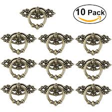 online get cheap antique ring pulls aliexpress com alibaba group 10pcs vintage kitchen cabinet cupboard dresser door drawer ring pull handles knobs antique brass