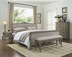 Upholstered Bedroom Furniture by Camille French Style Upholstered Bed Crown French Furniture