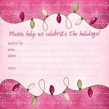 holiday party invitations templates iidaemilia com