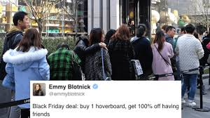 hoverboard black friday deals the 27 funniest tweets about black friday deals and general