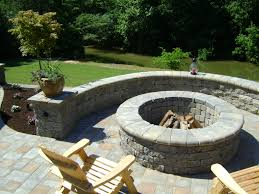 chandler concrete grotto hardscapes gallery versa lok fire pits