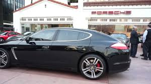 black porsche panamera interior 2011 porsche panamera turbo black cognac comfort pkg now available