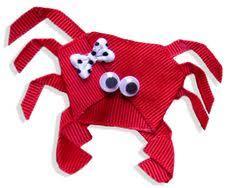 Nautical Themed Ribbon - fun and crafty diy christmas ribbon sculpture hair clip great way