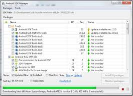 android sdk platform tools how to install android 4 4 2 sdk and try kitkat now on computer
