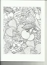 coloring book review fruit garden coloring book