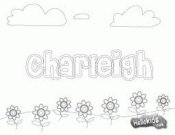 coloring page of your name coloring home