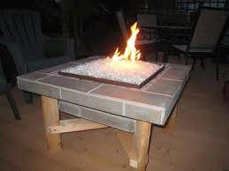 Diy Gas Fire Pit by Convert Outdoor Tables Into Fire Tables Propane Or Natural Gas