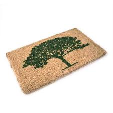 buy coir oak tree doormat the worm that turned revitalising