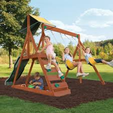 big backyard sunview ii complete gym set toys