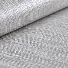 vertical texture metallic silver faux grasscloth vinyl modern wall