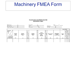 Fmea Template Excel Failure Mode And Effects Analysis Ppt