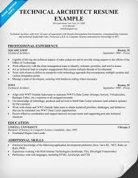 Technical Architect Resume Sample by Web Architect Resume Resumecompanion Com Resume Samples