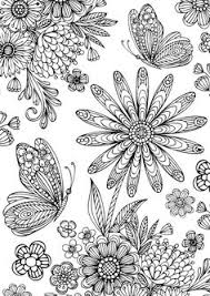coloring pages flowers printable free coloring