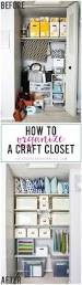 how to organize a craft closet just a and her blog