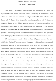 Example Of Good Argumentative Essay Personal Statement Essay Examples High