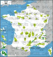 Map Of Lyon France by Geoatlas Thematic Maps French Natural Parks Map City