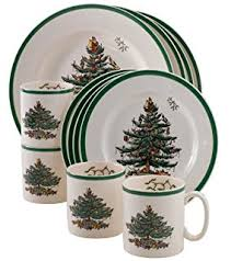 spode tree soup plate set of 4 rimmed