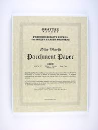 parchment writing paper parchment paper aged for inkjet printers