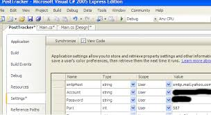 visual studio reset application settings how to use the settings class in c codeproject