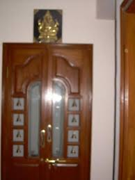 puja mandir doors u0026 pooja room single door designs with glasspooja