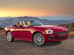 fiat roadster short report 2017 fiat 124 spider abarth ny daily news