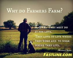 Farmer Meme - national ag day standing out in the field
