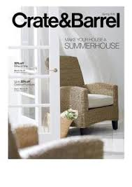 crate and barrel catalogs
