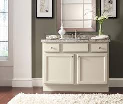 shaker style bathroom vanity homecrest cabinetry