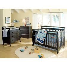 Da Vinci Convertible Crib Davinci Emily 4 In 1 Convertible Crib Black Walmart