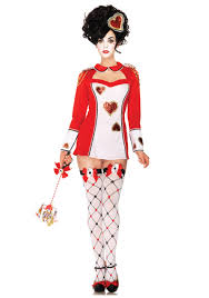 Halloween Costumes Queen Hearts Wonderland Card Guard Costume