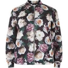 new look pink contrast sleeve bomber jacket 53 liked on