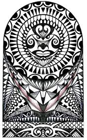 26 best maori tattoo design drawing sleeve images on pinterest