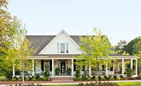single story farmhouse 2012 southern living idea house farmhouse exterior atlanta