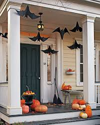 Halloween Decorations On Sale Canada by One Pretty Pin Martha Stewart U0027s Batty Front Porch Front Porches