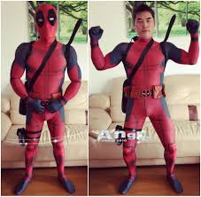 body suit halloween costumes online get cheap deadpool costume aliexpress com alibaba group