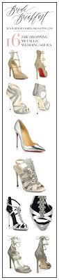 wedding shoes tips 16 jaw dropping metallic wedding shoes wedding shoes weddings