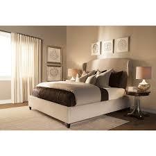 Bedroom Taupe City Furniture Canyon Lt Taupe Upholstered Platform Bed