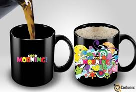Coffee Magic magic coffee mugs heat sensitive color changing coffee mug gift