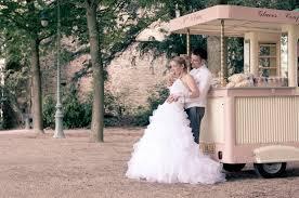 photos mariage originales idées de dessert de mariage original bar à glaces inspirations