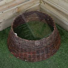 70cm x 28cm large willow brown wicker tree skirt cheaper