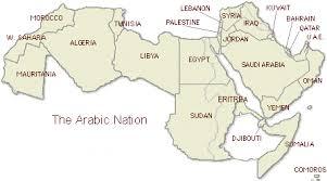arab countries map the arab world allnewspapers