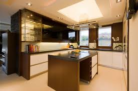kitchen room simple kitchen cabinet simple backsplash tile brown