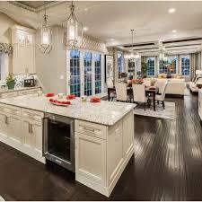 Open Floor Plan Kitchen Designs Kitchen Living Room Dining Room Open Floor Plan Coma Frique