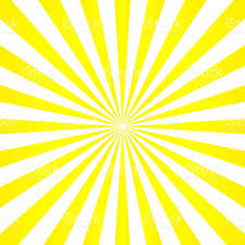 abstract light yellow sun rays background vector stock vector