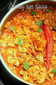 cuisine tunisienne pate au thon pate tunisienne au poulet à l harissa recettes faciles